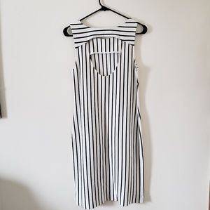 Banana Republic Dresses - Banana Republic Madmen Verticle Striped Dress